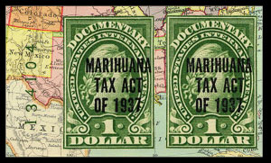 Image - Marijuana revenue stamp 1937 issue
