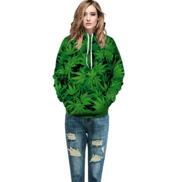 Marijuana 3D Hoodie
