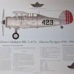 Gloster Gladiator trykk