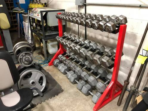 Custom Stillman Valley Weight Rack