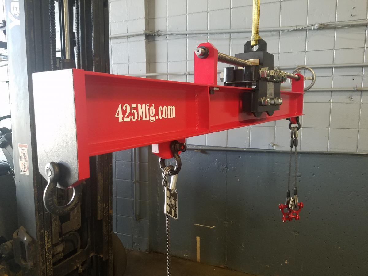 Adjustable Center of Gravity Engine Sling