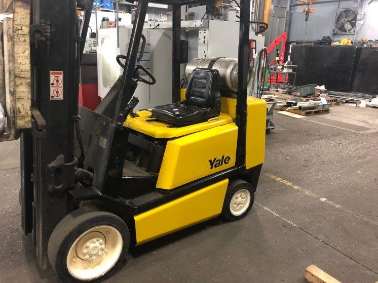 Yale Forklift Repaint