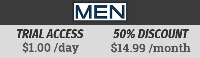 Exclusive offer from Men.com