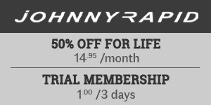 Flash Sale at Johnny Rapid