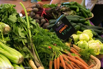 Carrots and farm fresh Vegatables