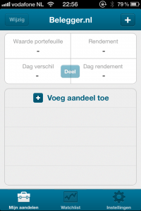 Mijn Aandelen - Belegger.nl