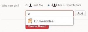 Volger aan jouw Pinterest-board toevoegen