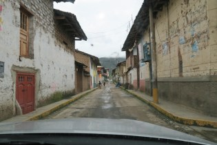 The quiet town of Angasmarca.