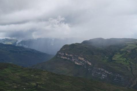 Landscape surrounding Gocta.