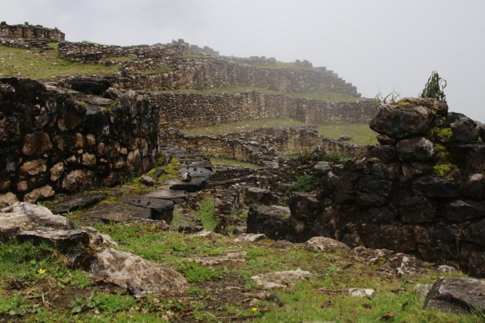 Fog and ruins.