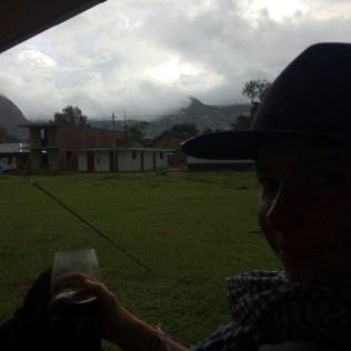 A dark toast to a rainy day.