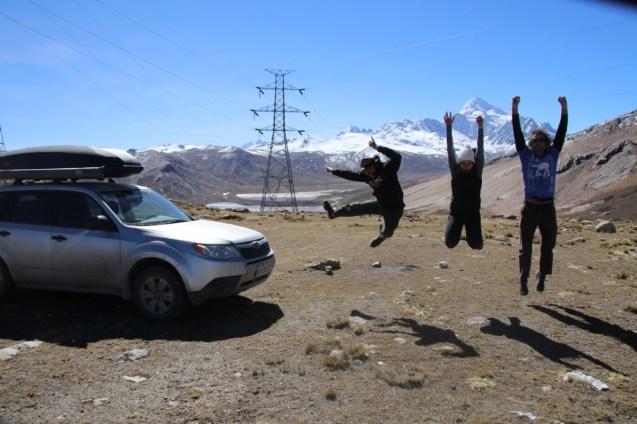 Obligatory jumping shot.