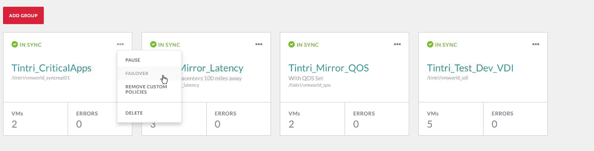 Taking a look at Tintri's Synchronous Replication - Matt That IT Guy