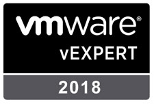 VMware vExpert 2018