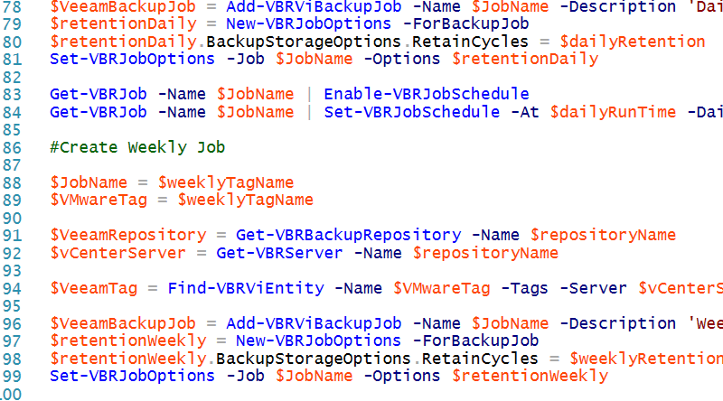 PowerShell Code