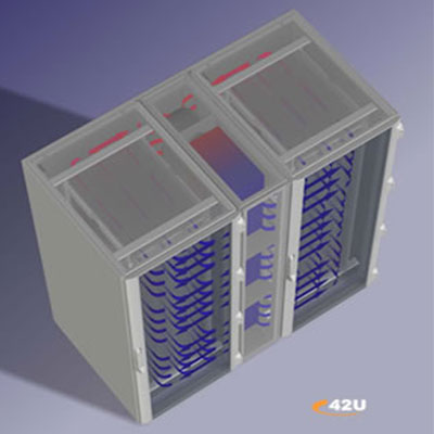 data center rack cooling ambient air