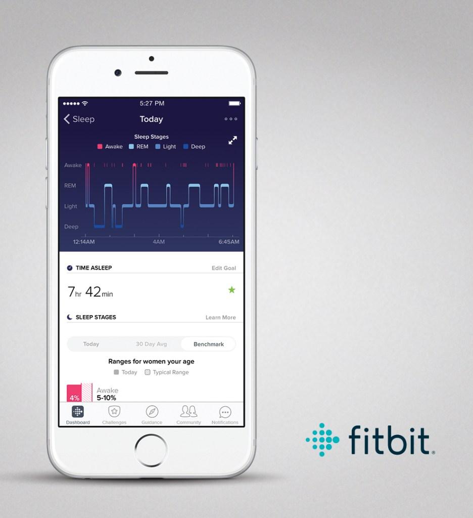 FitBit Sleep Stages App