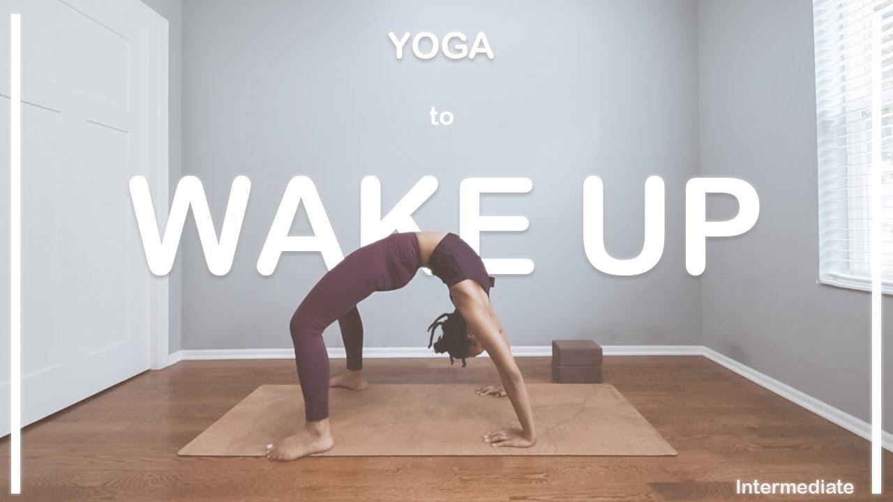 WAKE UP YOGA!  | 45 Min | Intermediate Level | POWER VINYASA