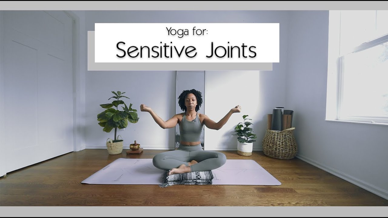 Yoga for Sensitive Knees, Wrists, & Elbows (Arthritis Friendly) | Bright and Salted Yoga