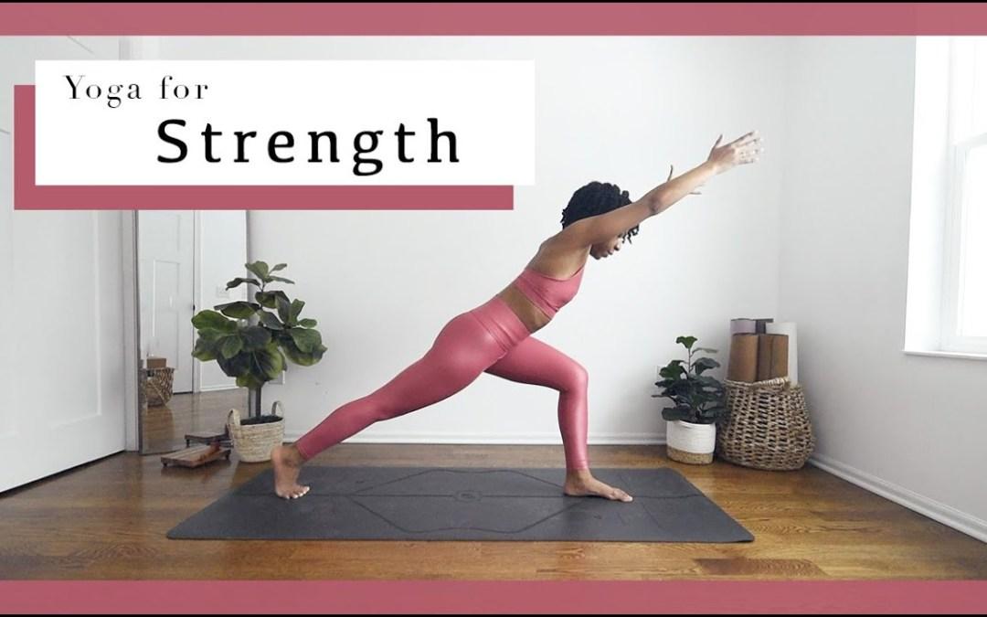 Power Vinyasa | Yoga for STRENGTH! *Full Body*