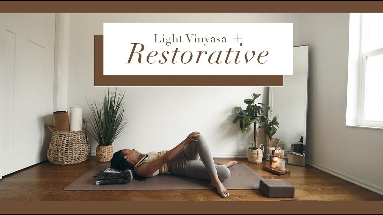 35 Min · RESTORATIVE YOGA  | *Ambient Music*