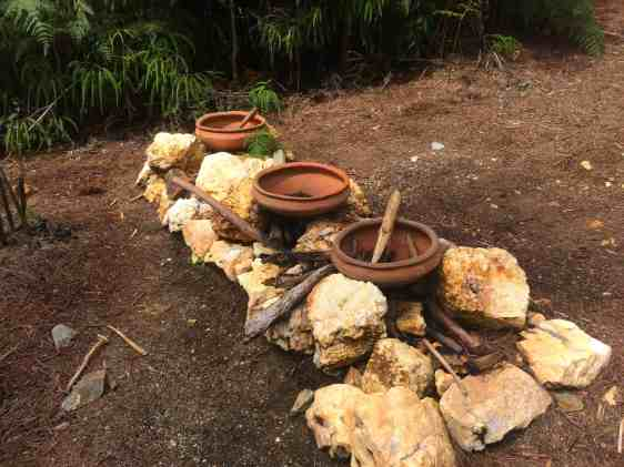 Reproduced artifacts in Arvi Park