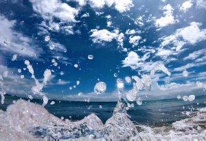 Ocean water from Uvita