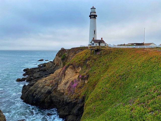 Light House at Pigeon Point in Pescadero, California