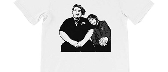 Babes and Gents Pouya Fat Nick White Tee
