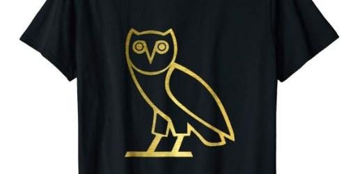 Drake-gold t-shirt men women