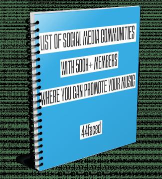List of Social Media Communities for Promotion