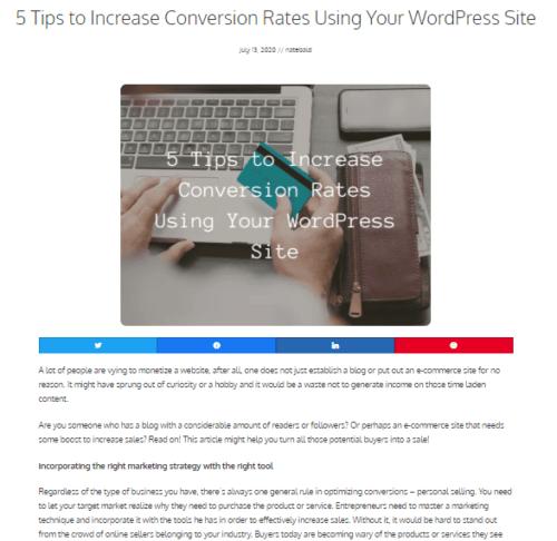 Wordpress better than wix