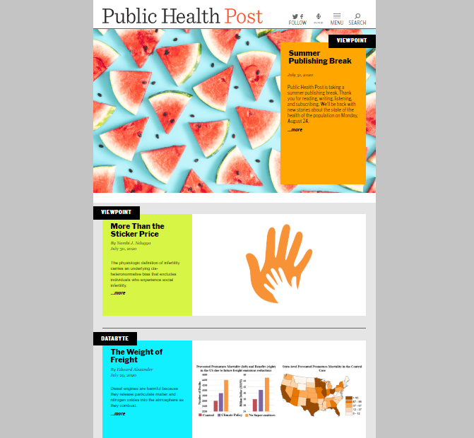 Public Health Post
