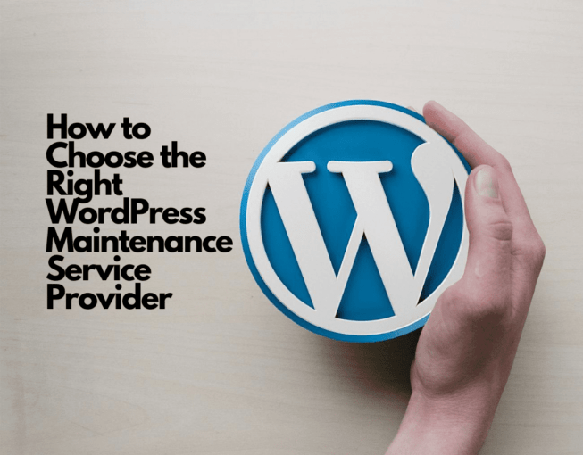 WordPress Maintenance Service Provider