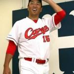 ファン投票で選出されたオンヨネを愛用する黒田博樹選手!!