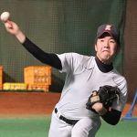 仙台育英の佐藤世那投手がジームスのグラブを使用!