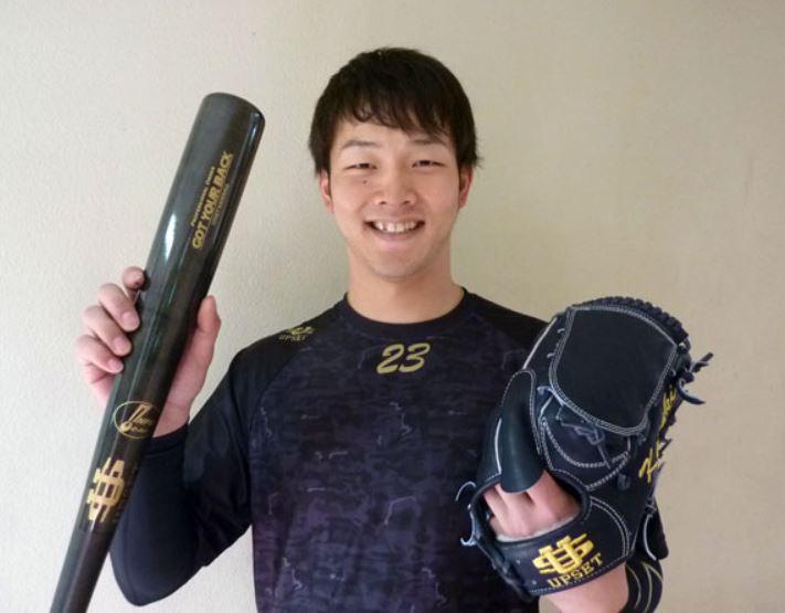 大活躍のカープ薮田投手が使用しているアップセット(UPSET)