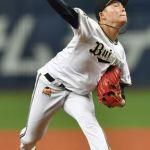 オリックス山本由伸投手が今シーズン初先発で好投!