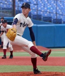 大阪桐蔭_高山投手(プロエッジ)高校野球ドットコム