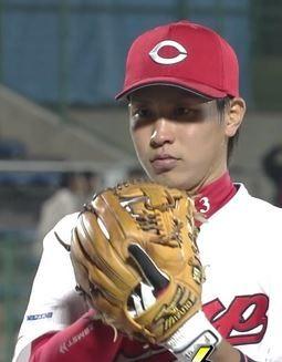 広島 堂林選手 ザムスト2
