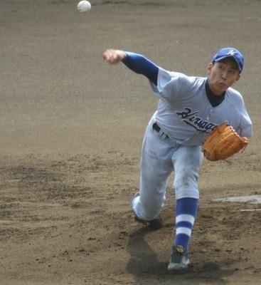 平塚学園 高田投手 ザナックス