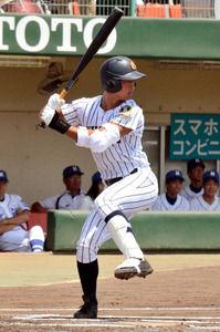 九州国際大付 古澤内野手
