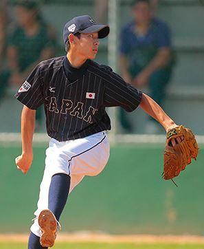 15u 日本代表 大和田投手 ザナックス グラブ