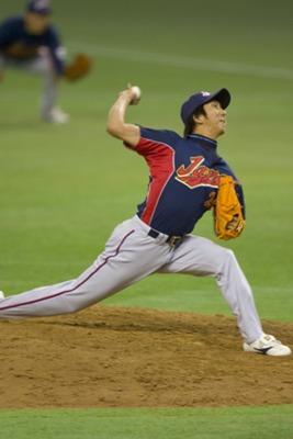 藤川球児投手 ザナックス グローブ スパイク