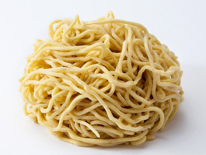業務用生麺 ラーメン/中華麺/つけ麺 中太麺/太麺 MO#18(全粒粉入)