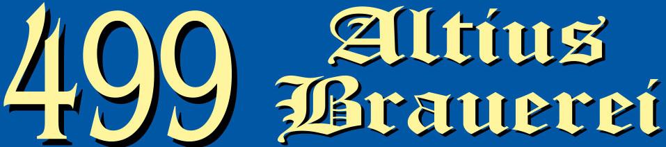 499 Verzago Altius Brauerei