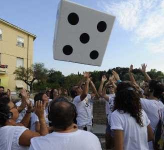 Un remote flash mob anima la città