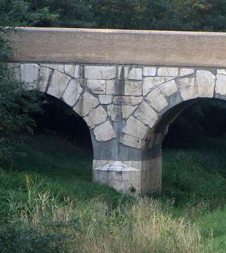 Ponte romano sul fiume Rubicone a Savignano sul Rubicone