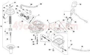 GY6 150 Carb Connections And Diagram | 49ccScoot Scooter Forums