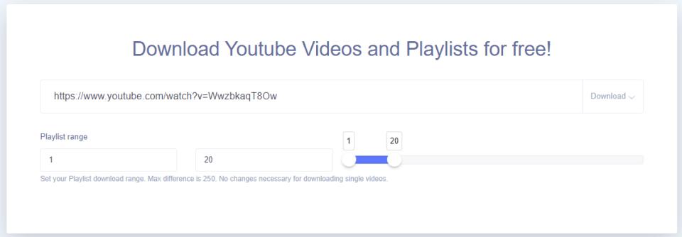 用 ddownr下载Youtube视频